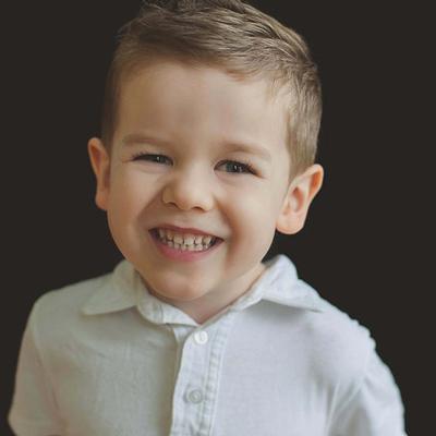 boy smiling profile | Rothewood Academy