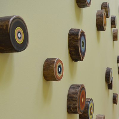 wood rings on the wall | Rothewood Academy