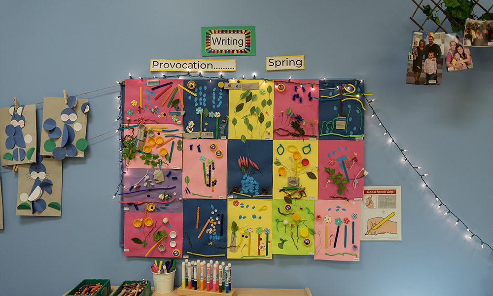 Kids Board of Collages at Rothewood Academy